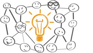 Netzwerk für gute Ideen